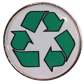 RECYCLE round badge